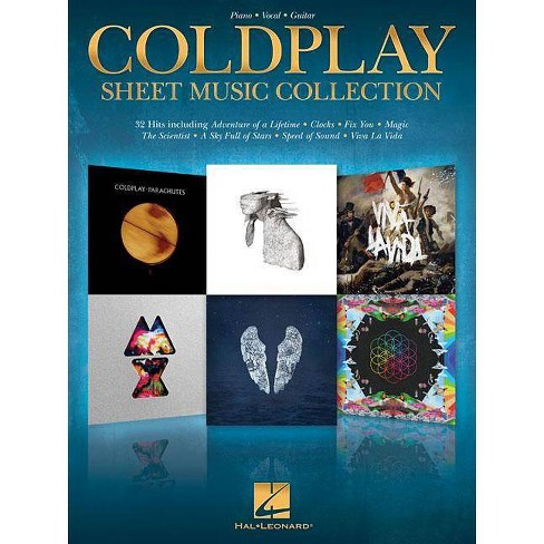 Coldplay Sheet Music Collection - (Paperback) - image 1 of 1