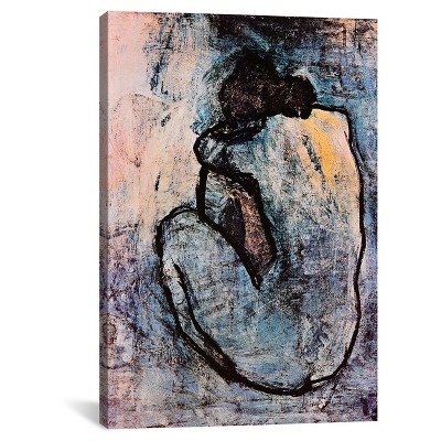 Blue Nude by Pablo Picasso Canvas Print (40 x 26 )