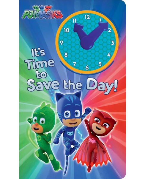It's Time to Save the Day! (Hardcover) (Natalie Shaw) - image 1 of 1