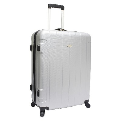 Traveler's Choice Rome 29  Hardside Spinner Suitcase - Silver