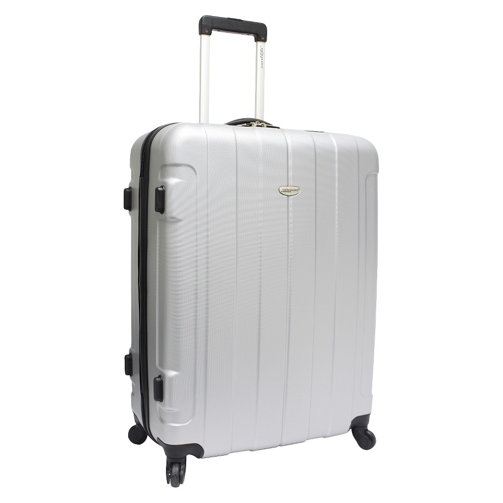 Traveler's Choice Rome 29 Hardside Spinner Suitcase - Silver