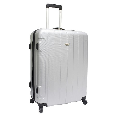 "Traveler's Choice Rome 29"" Hardside Spinner Suitcase - Silver - image 1 of 5"