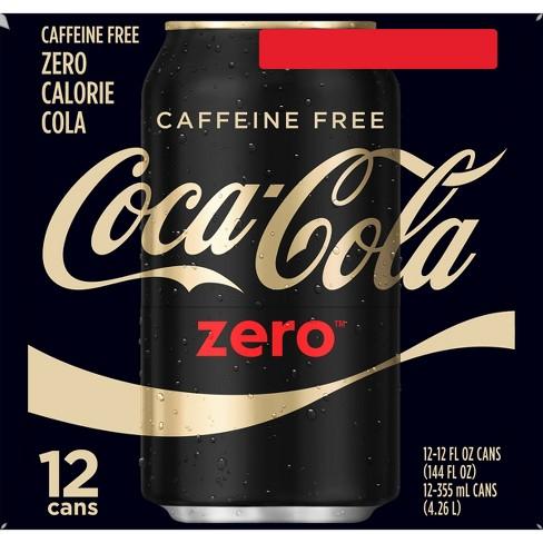 Coca-Cola Zero Caffeine Free - 12pk/12 fl oz Cans