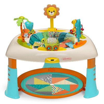 Infantino Gaga 2-In-1 Sit, Spin & Stand Entertainer & Activity Table