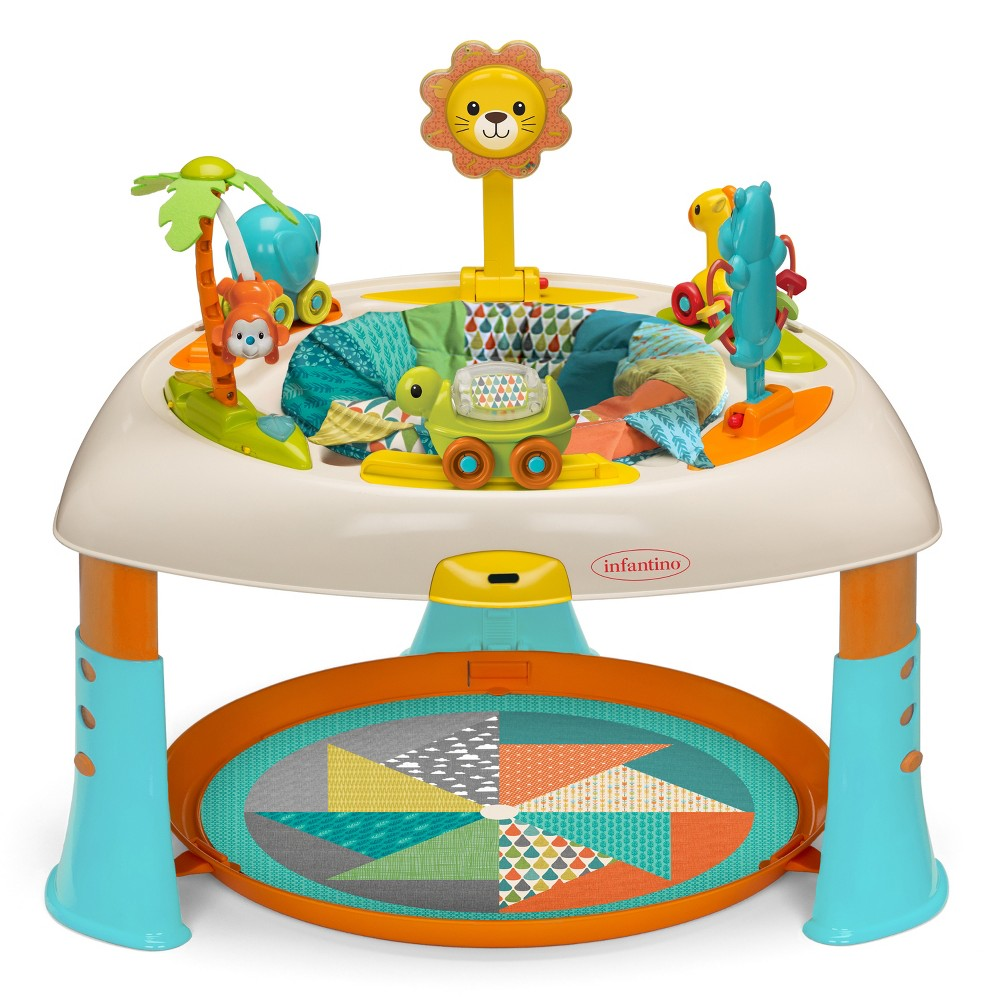 Image of Infantino Go Gaga! Sit, Spin & Stand Entertainer 360 Seat & Activity Table