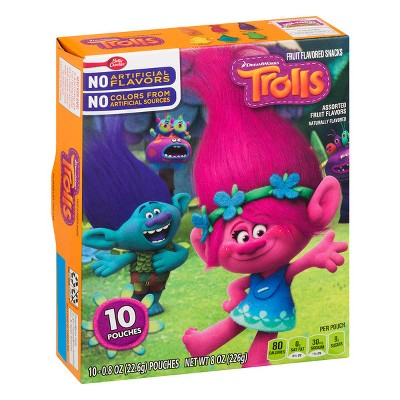 Fruit Snacks: Trolls