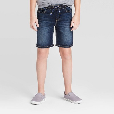 Boys' Jean Shorts - Cat & Jack™ Dark Wash