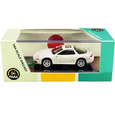 Mitsubishi 3000GT GTO Glacier White Pearl 1/64 Diecast Model Car by Paragon