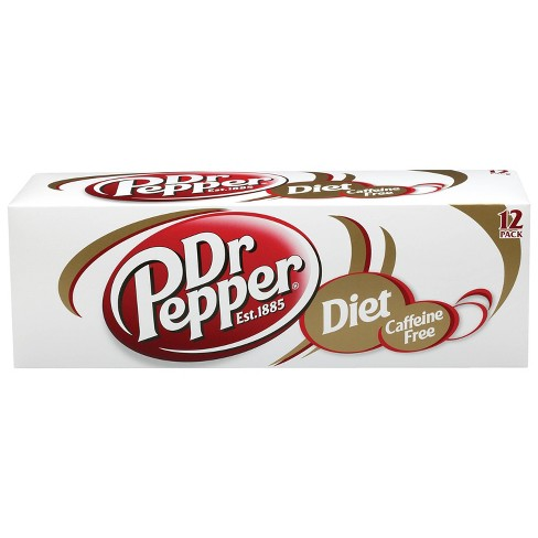 Caffeine Free Diet Dr Pepper - 12pk/12 fl oz Cans - image 1 of 3