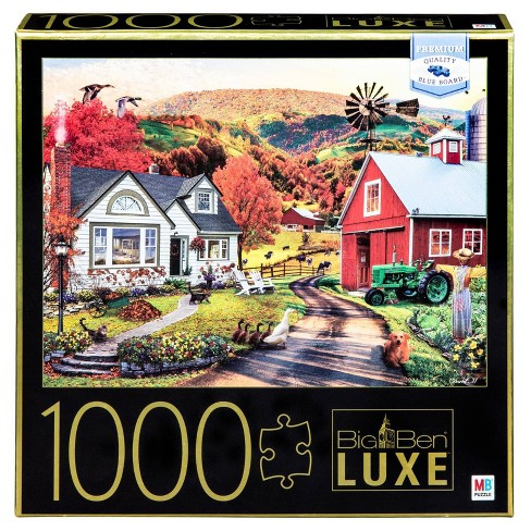 Big Ben Luxe: Farm Country Puzzle 1000pc - image 1 of 1
