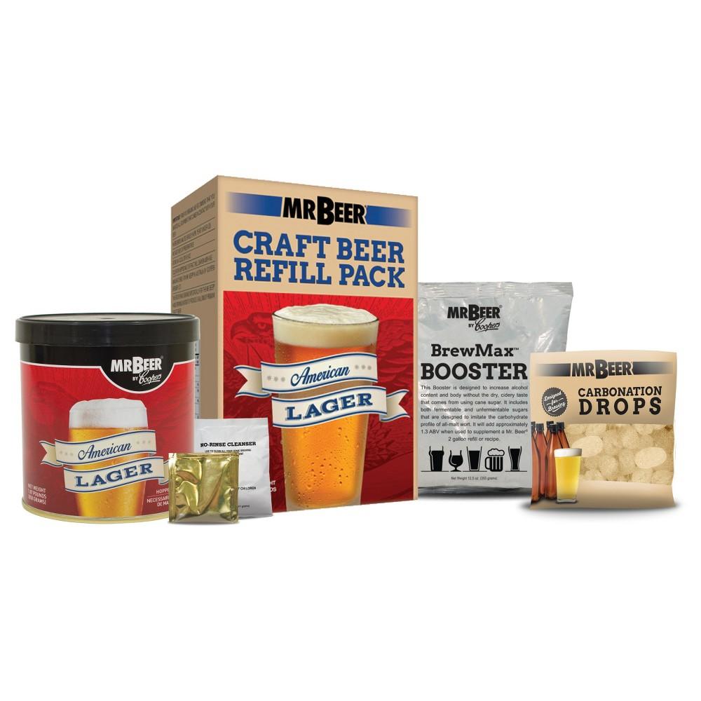 Mr. Beer American Lager Craft Beer Making Refill Kit