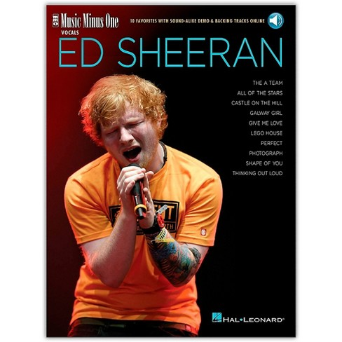 Music Minus One Ed Sheeran Music Minus One Vocals Book/Audio Online