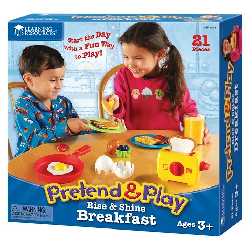 Learning Resources Pretend & Play® Rise & Shine Breakfast - image 1 of 3
