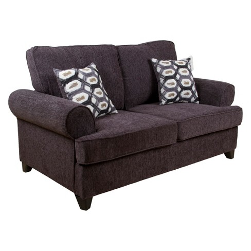 Magnificent Acme Furniture Alessia Loveseat Sleeper Dark Gray Pabps2019 Chair Design Images Pabps2019Com