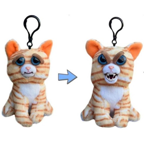 Feisty Pets Princess Pottymouth Cat Plush Key Chain - image 1 of 3