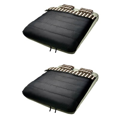 Insta-Bed 6 Piece Bedding Set for Queen Sized Airbed (Not Included) (2 Pack)
