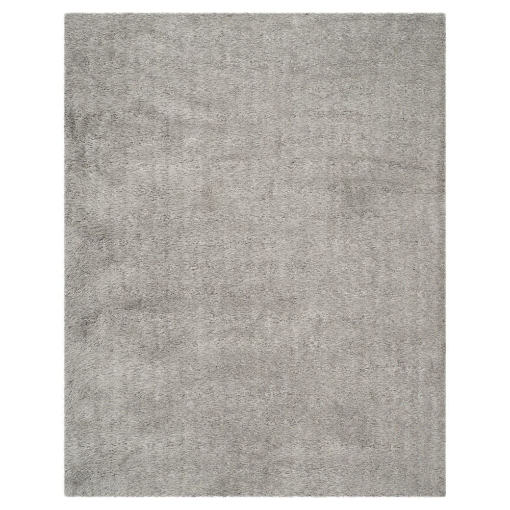 Silver Solid Tufted Area Rug - (8'x10') - Safavieh