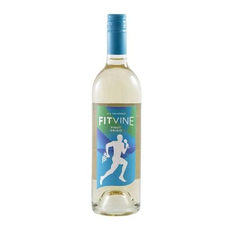 FitVine Pinot Grigio White Wine - 750ml Bottle - image 1 of 1