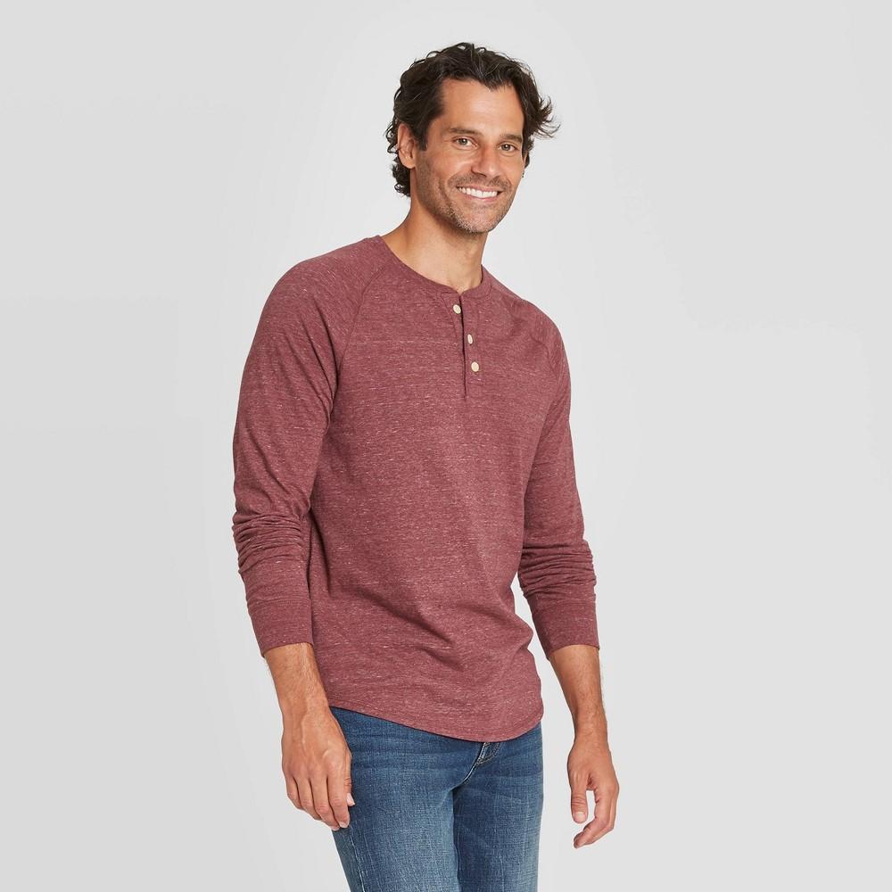 Coupons Men's Standard Fit Long Sleeve Henley Jersey T-Shirt - Goodfellow & Co™