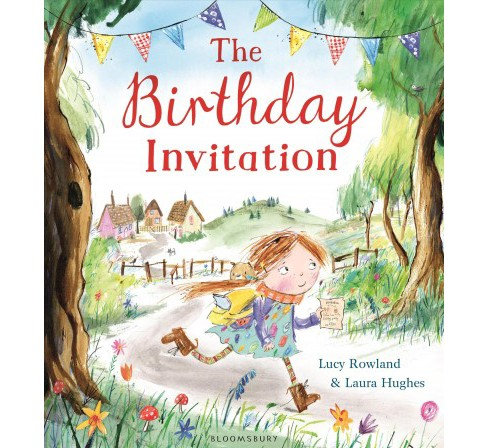 Birthday Invitation (Hardcover) (Lucy Rowland) - image 1 of 1
