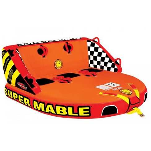 Airhead SPORTSSTUFF Super Mable Triple Rider Lake Boat Towable Tube   53-2223 - image 1 of 5