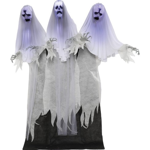 "72"" Halloween Animated Haunting Ghost Trio - image 1 of 4"