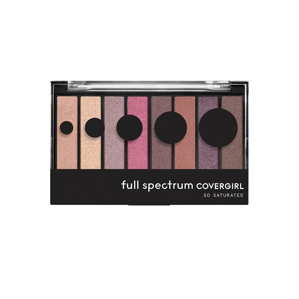 Image of COVERGIRL So Saturated Shadow Palettes Posh - 0.22oz