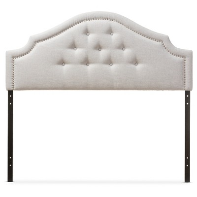 Cora Modern And Contemporary Fabric Upholstered Headboard - Baxton Studio