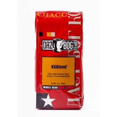 Dazbog KGBlend Dark Roast Whole Bean Coffee - 12oz