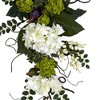 "Nearly Natural Hydrangea Teardrop White (28"") - image 3 of 3"