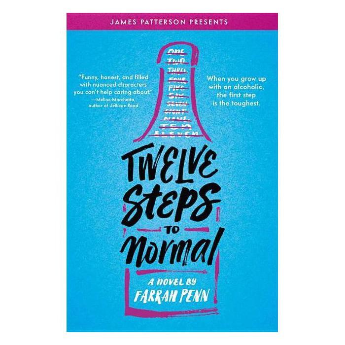 Twelve Steps to Normal -  by Farrah Penn (Hardcover) - image 1 of 1