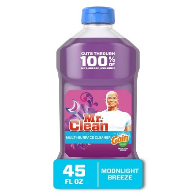 Mr. Clean with Gain Moonlight Breeze Scent Multi-Surface Cleaner - 45 fl oz