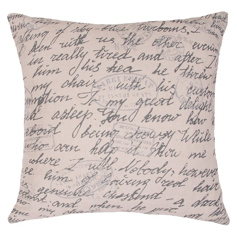 Ivory Charmed By Jennifer Adams Throw Pillow - Jaipur - image 1 of 1