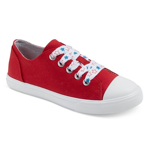 Girls' Brielle Sneakers Cat & Jack™ - Red - image 1 of 3