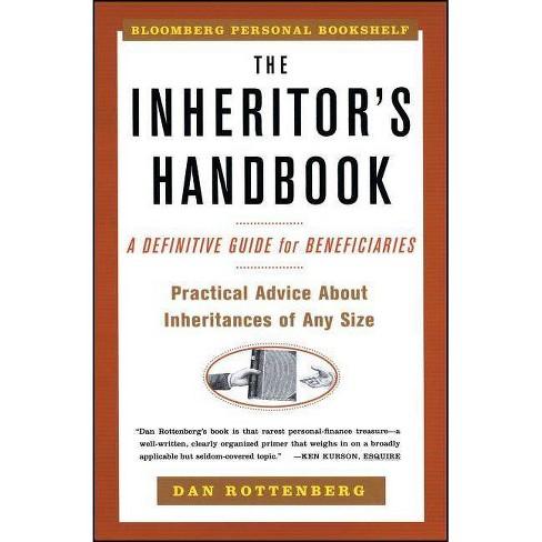 The Inheritors Handbook - (Bloomberg Personal Bookshelf (Paperback)) by  Dan Rottenberg (Paperback) - image 1 of 1