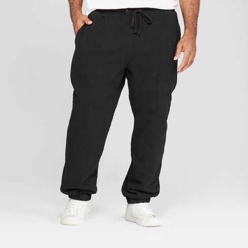 Men's Tall Fleece Cinched Jogger Pants - Goodfellow & Co™ - image 1 of 3