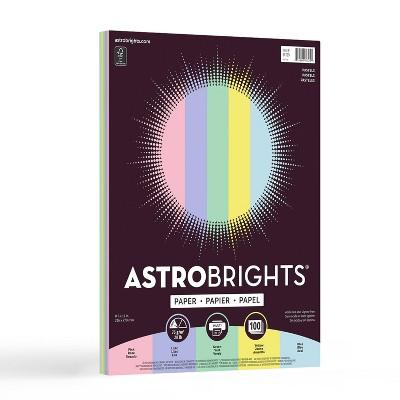 "100 Sheets Printer Paper 8.5""x11"" Pastel - Astrobrights"
