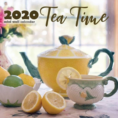 Tea Time 2020 Mini Wall Calendar - by  Wall Publishing (Paperback) - image 1 of 1