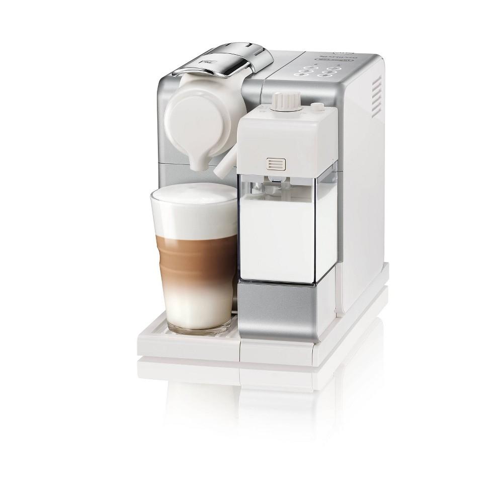 Image of Nespresso Lattissima Touch Espresso Machine Frosted Silver by De'Longhi