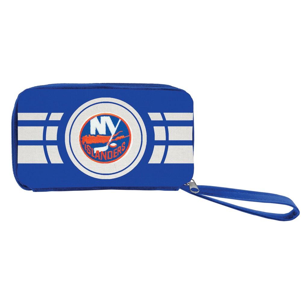 NHL New York Islanders Ripple Zip Wallet, Adult Unisex