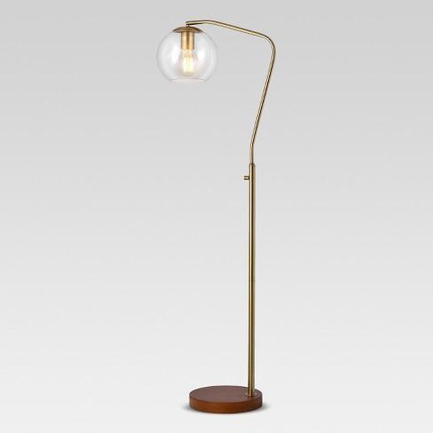 Madrot Gl Globe Floor Lamp Project 62