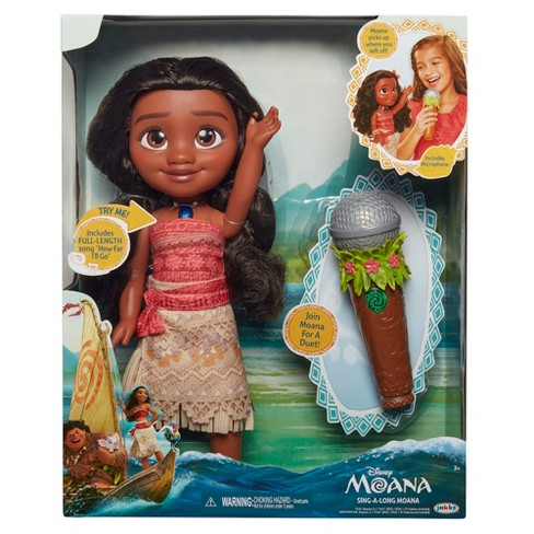 Disney Sing A Long Moana Exclusive Doll Target