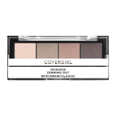 COVERGIRL TruNaked Quads Eyeshadow Palatte - 0.06oz