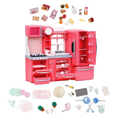 Our Generation Gourmet Kitchen Accessory Set - Pink