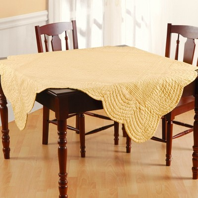C&F Home Green & Yellow Table Topper