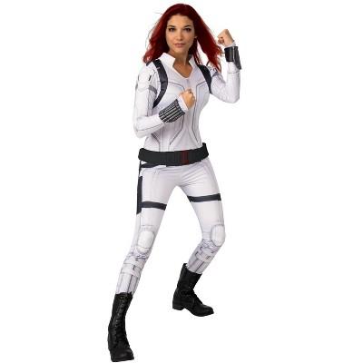 Marvel Black Widow Movie Deluxe White Black Widow Adult Costume