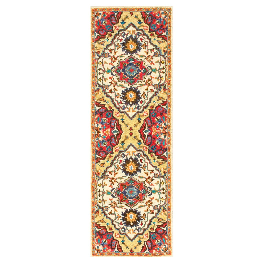 Red Solid Tufted Runner - (2'6x8') - nuLOOM