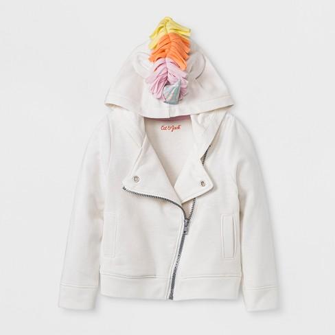 6b48952db Toddler Girls' Unicorn Sweatshirt - Cat & Jack™ Cream : Target