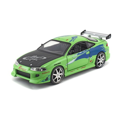 the fast and the furious diecast 1995 mitsubishi eclipse - 1:24