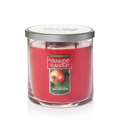 12.5oz Lidded Glass Jar 2-Wick Macintosh Candle - Yankee Candle